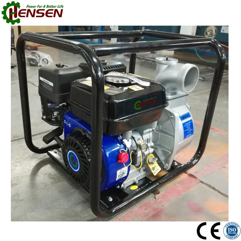Powered by 6.5HP Gasoline Engine 2 Inch Gasoline Water Pump