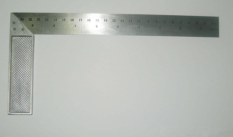 Steel Angle Square/Try Square Ruler Carpenter′s Framing Squares