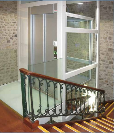 No Pit Requirement Villa Elevator for Private Home