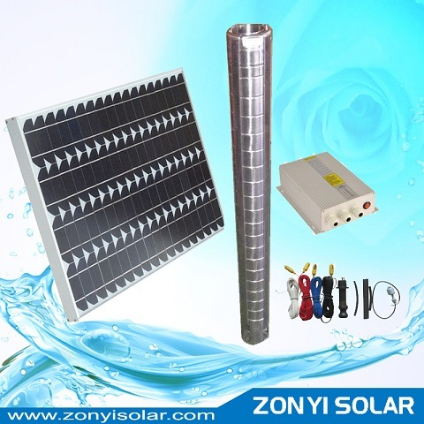 Solar Water Pump System for Irrigation