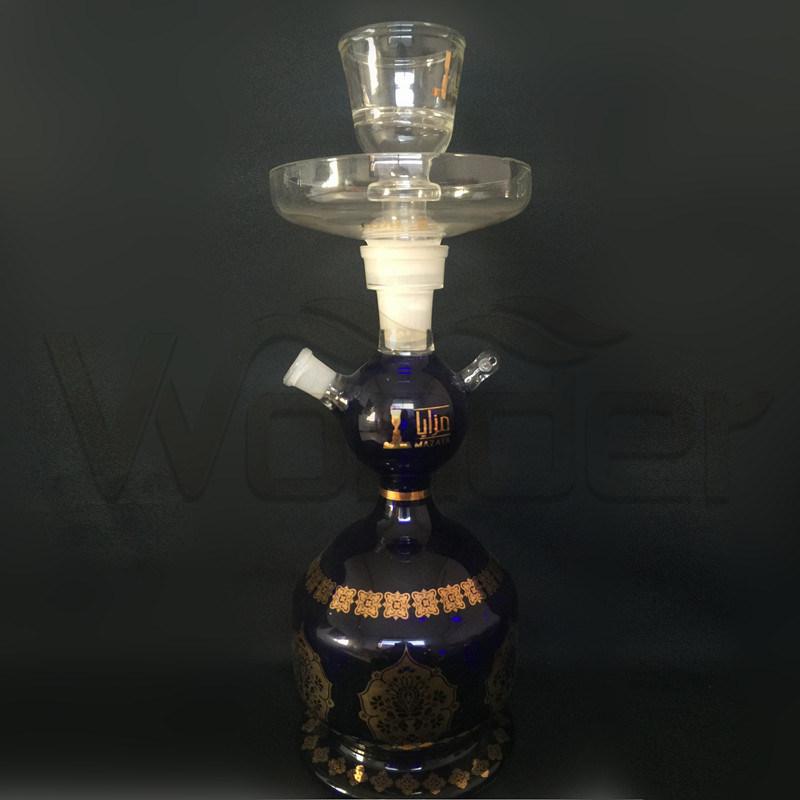 Dark blue Color Hookah for Smoking Pipe