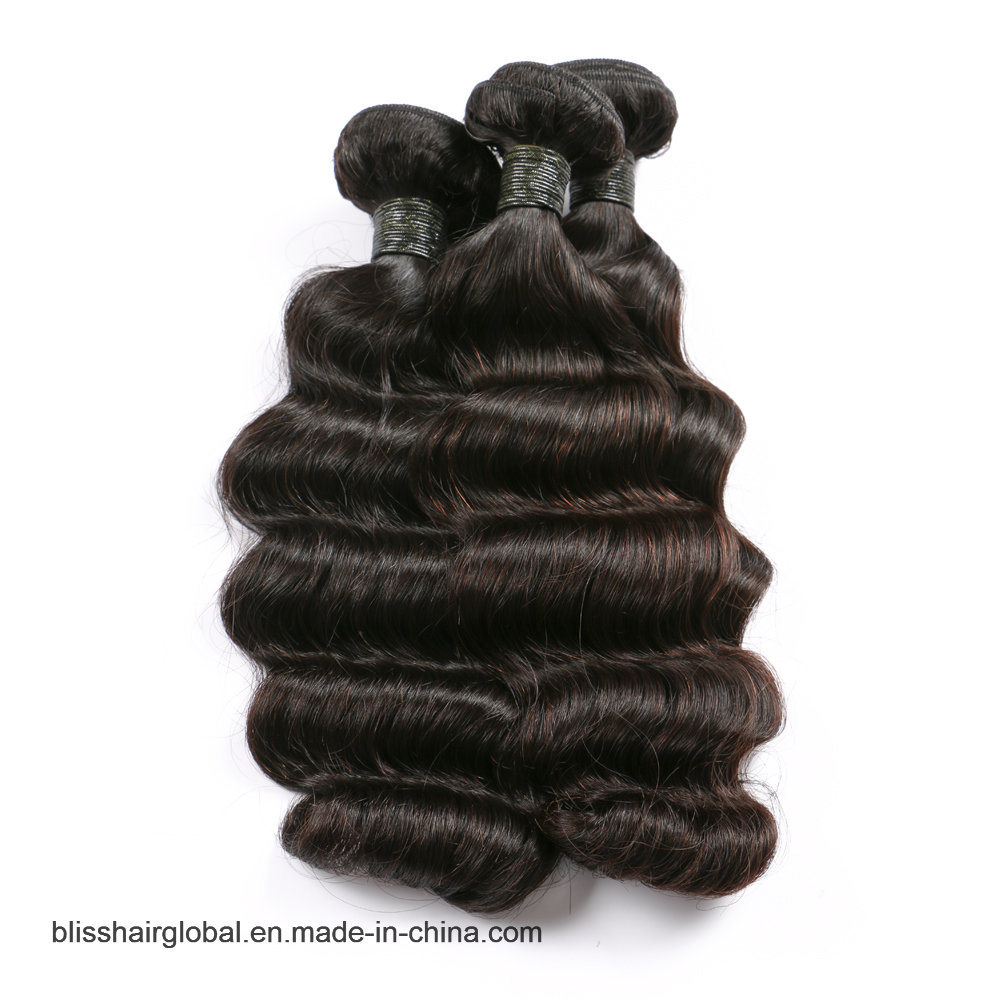 "Bliss Peruvian Hair Loose Wave 14""-24"" 8A Top Quality One Donor Virgin Peruvian Human Hair"