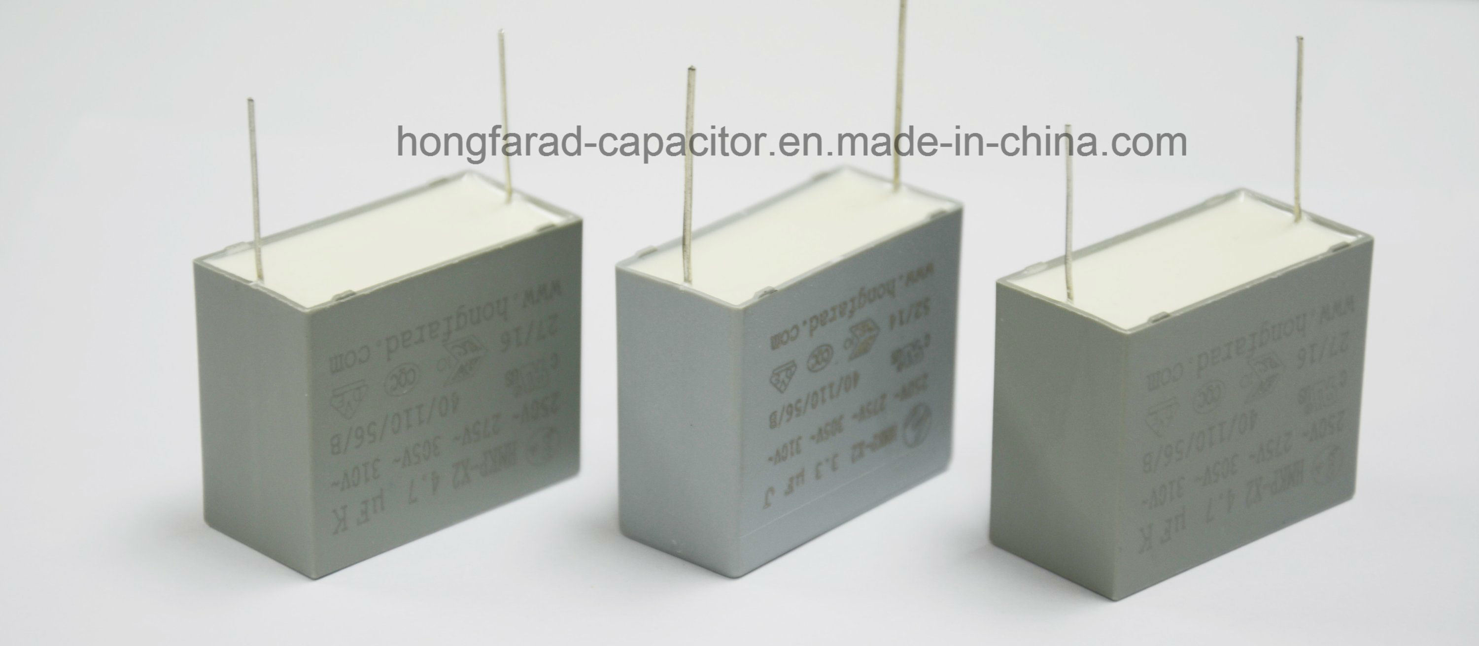 Cbb62 MKP X2 Film Capacitor for White Appliance.