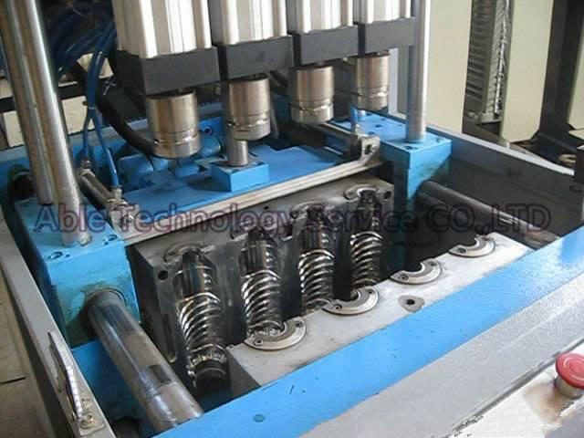 4-Cavity Semi-Auto Plastic Pet Bottle Blow Molding Machine