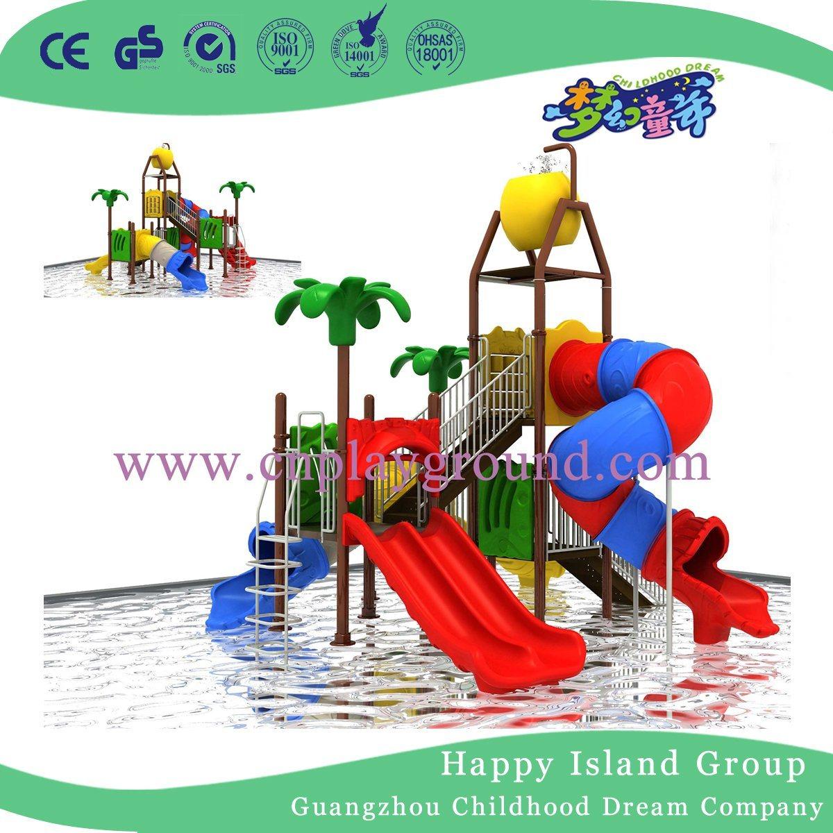 2017 Newest Design Small Playground Equipment Cheap Water Playground for Amusement Park (HF-001)