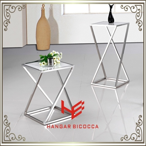 Console Table (RS162401)Tea Stand Stainless Steel Furniture Home Furniture Hotel Furniture Modern Furniture Table Coffee Table Tea Table Side Table Flower Tower