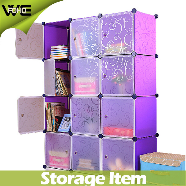 Wholesale Foldable Storage Cabinet Bedroom Furniture Plastic Wardrobe with Shoe Cabinets