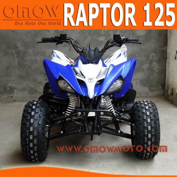 New Raptor Style 125cc ATV