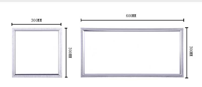 14W 300X600mm Slim LED Panel Light