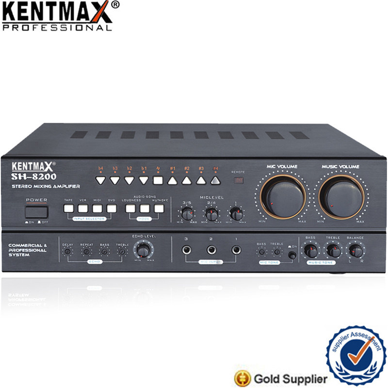 200W Karaoke Amplifier with Motor Reset for Malaysia Market (SH-8200)