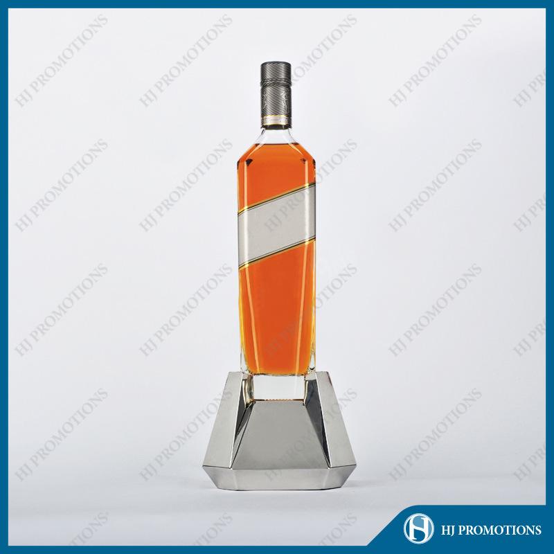 Stainless Steel LED Bottle Display Rack (HJ-DWL02)