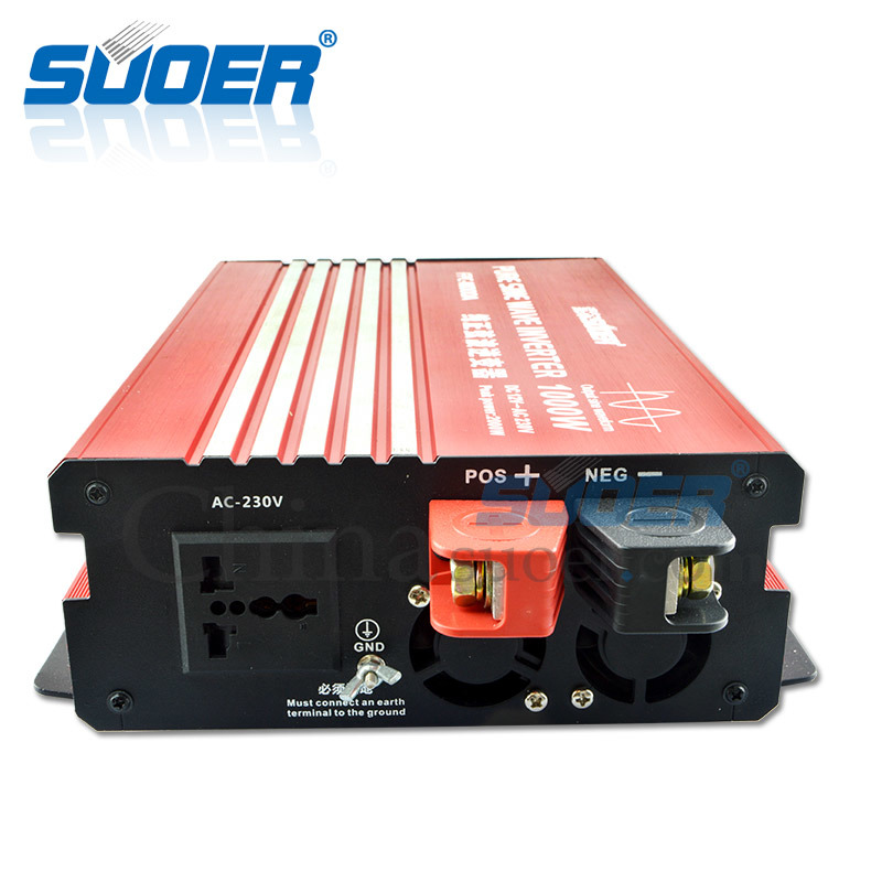 Suoer New Generation True Sine Wave Inverter 1000W 220V 230V Solar Power Inverter (FPC-H1000A)