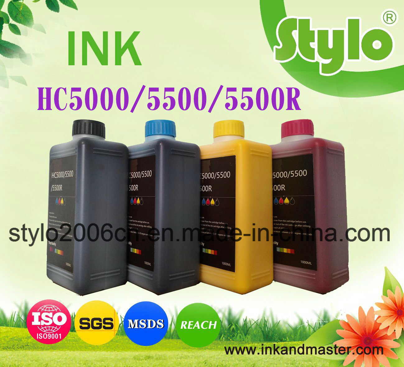 Hc5000/Hc5500 Refill Ink Chip/Ink, 1000ml