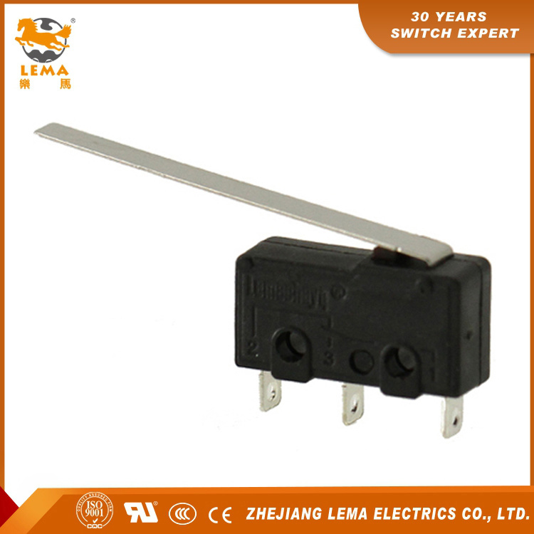 Lema Kw12-9 5A Lever Welding Terminal Mini Micro Switch