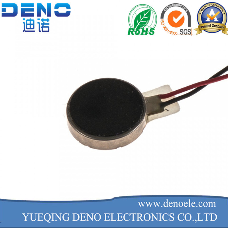 3V DC Flat Coin Type Vibration Motor for Mobile Phone