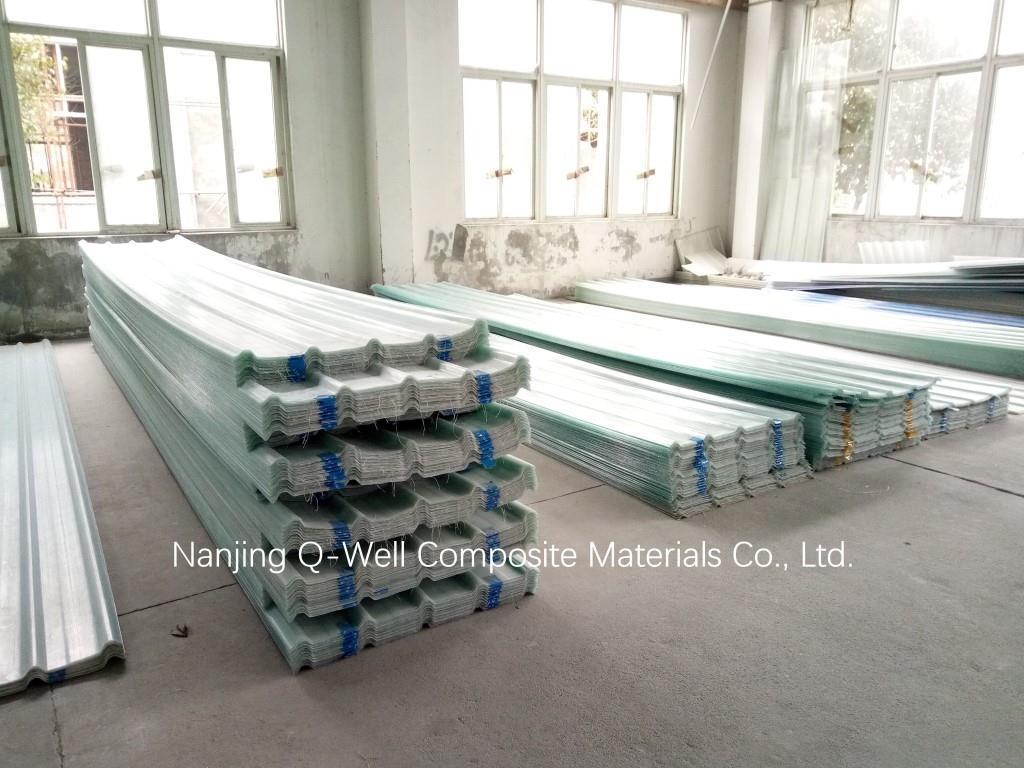 FRP Panel Corrugated Fiberglass/Fiber Glass Roofing Panels 171007