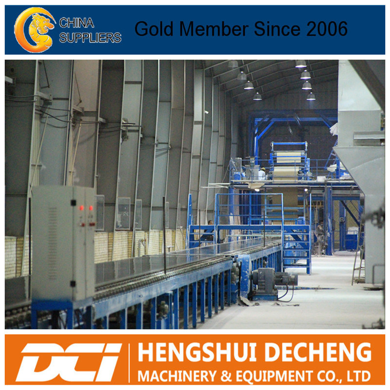 Construction Machinery Gypsum Board Production Line