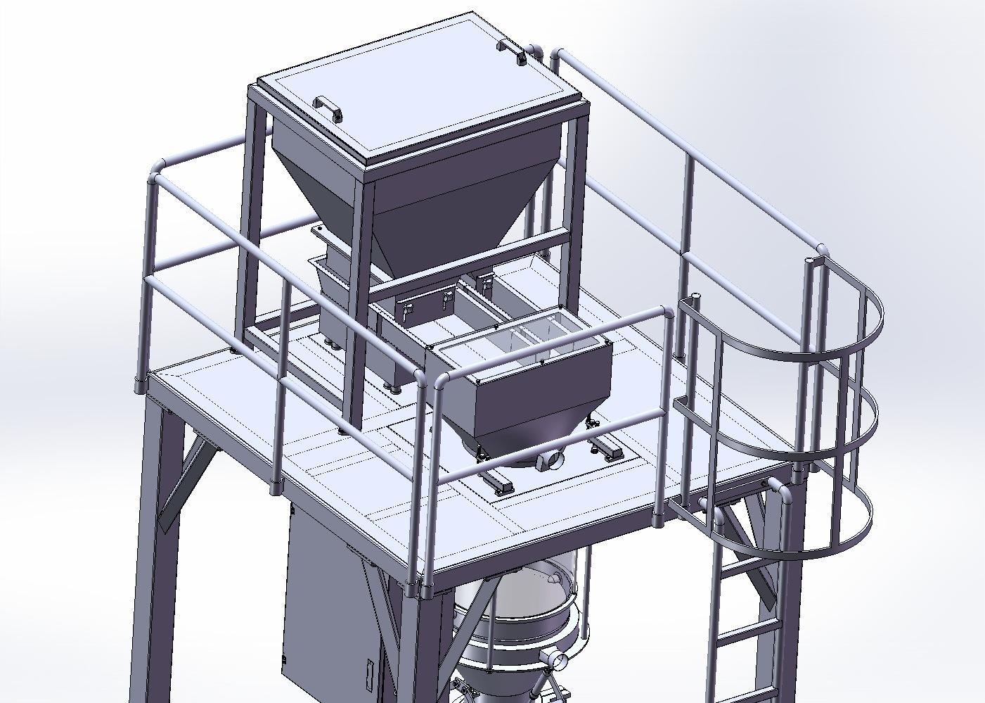 25kgs Bulk Bag Granule Packaging Machine