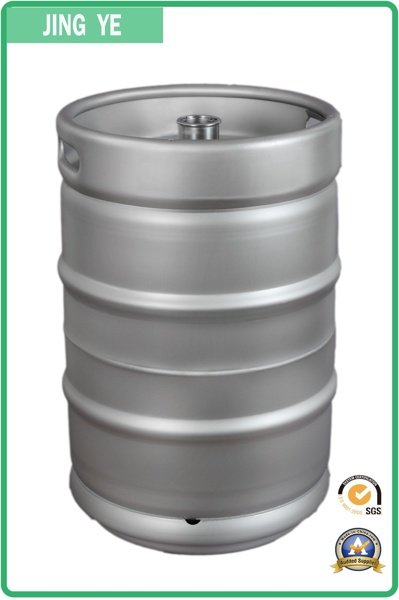 Us 1/2 Stackable Beer Keg 58.6L