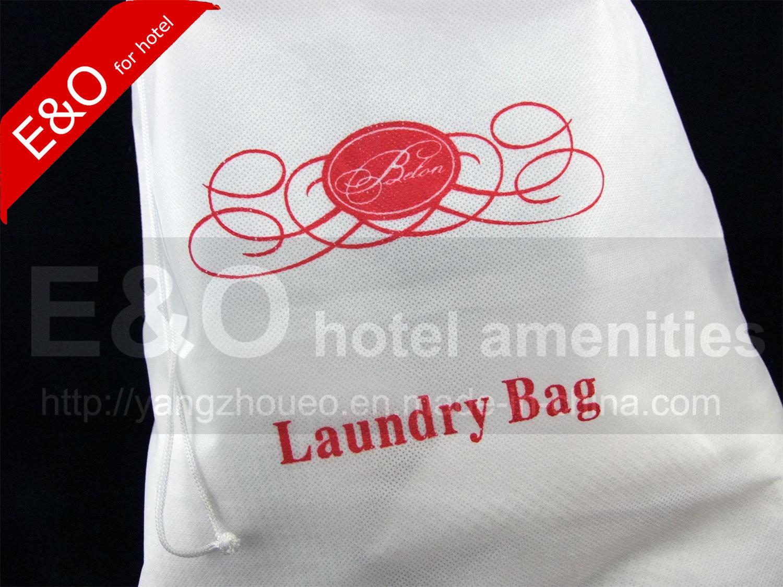 Hotel Bag Non-Woven Hotel Drawstring Laundry Bag