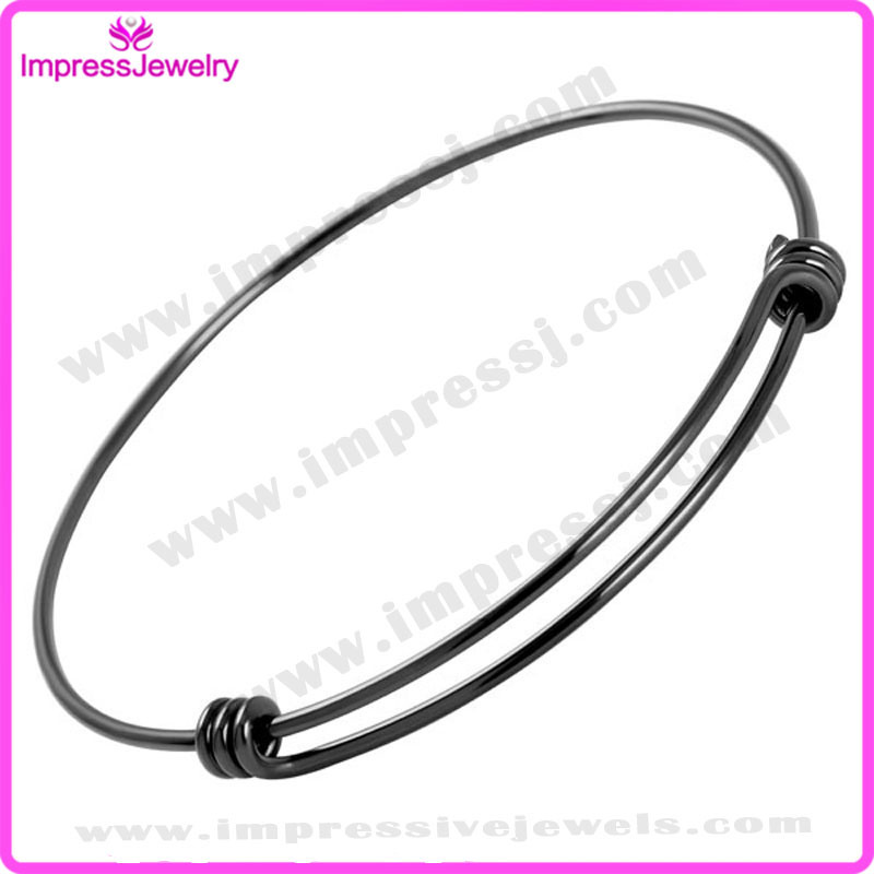 1.5mm Wire Expandable Wire Bangle Bracelet for Men Women