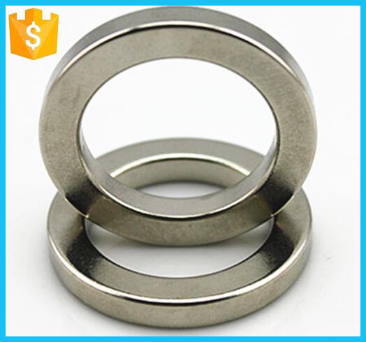 Customized Golden D30*D25*3mm N52 Ring Neodymium Magnet