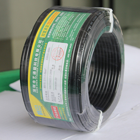 Rvvb 2*0.3mm&Sup2 2 Cores Flat Sheath Power Cable/Rvvb Two-Core Flat Jacket Power Wire 100m/Roll