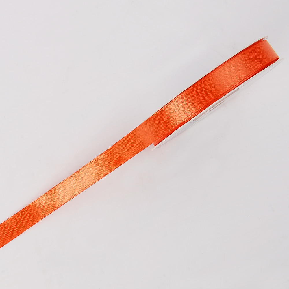 "1/2"" Wide Polyester Satin Ribbon Single Face"