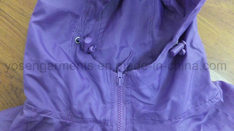 Adult′s Outdoor Wear Waterproof Windproof Jacket Windbreaker (WB01)