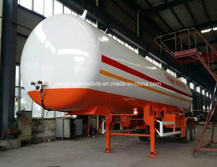 40000 Liters LPG Tanker 40 Cbm M3 LPG Gas Tanker Trailer
