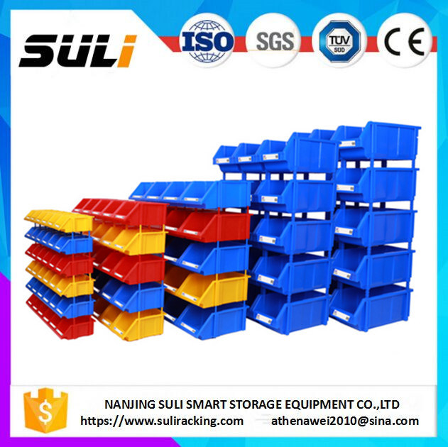 Warehouse Plastic Storage Bins Parts Box