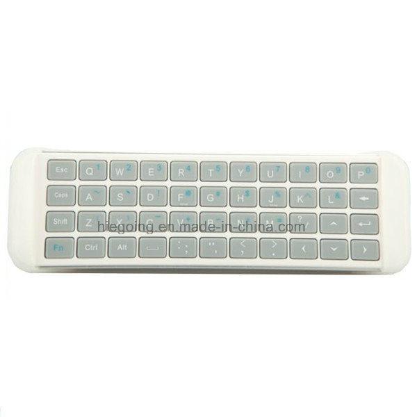 Mini 2.4G RF USB Bluetooth Keyboard for Smart TV Keyboard White