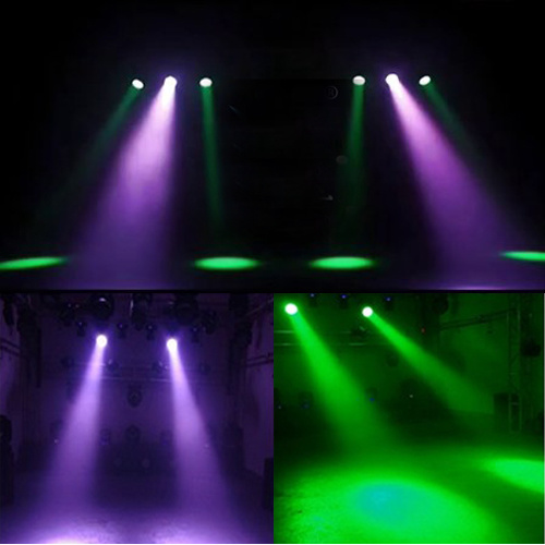 High Power 7*40W 4in1 LED Zoom Beam Moving Head Stage Lighting