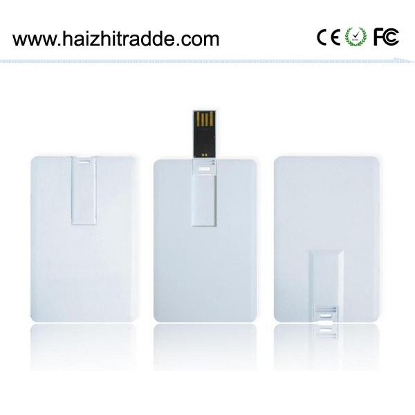Wholesale Blank Custom Logo Crdedit Card USB Flash Drive 3.0