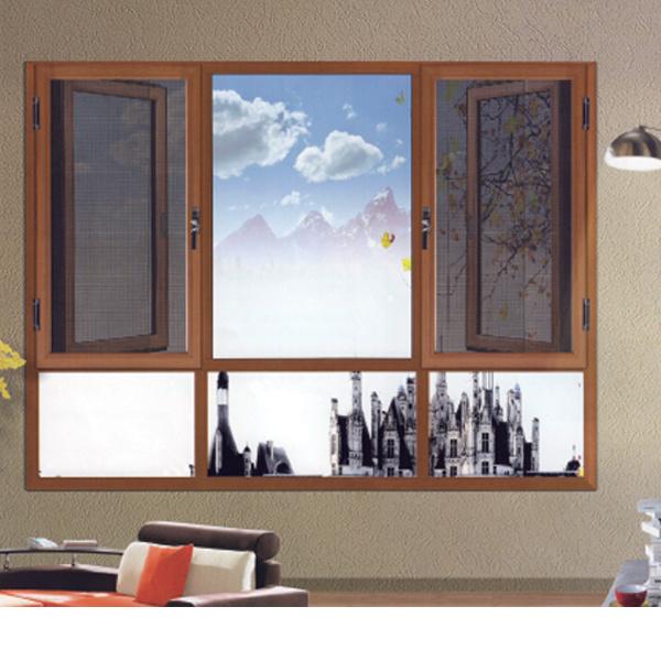 Feelingtop Metal Aluminium/ Aluminum Alloy Windows with Mosquito Net