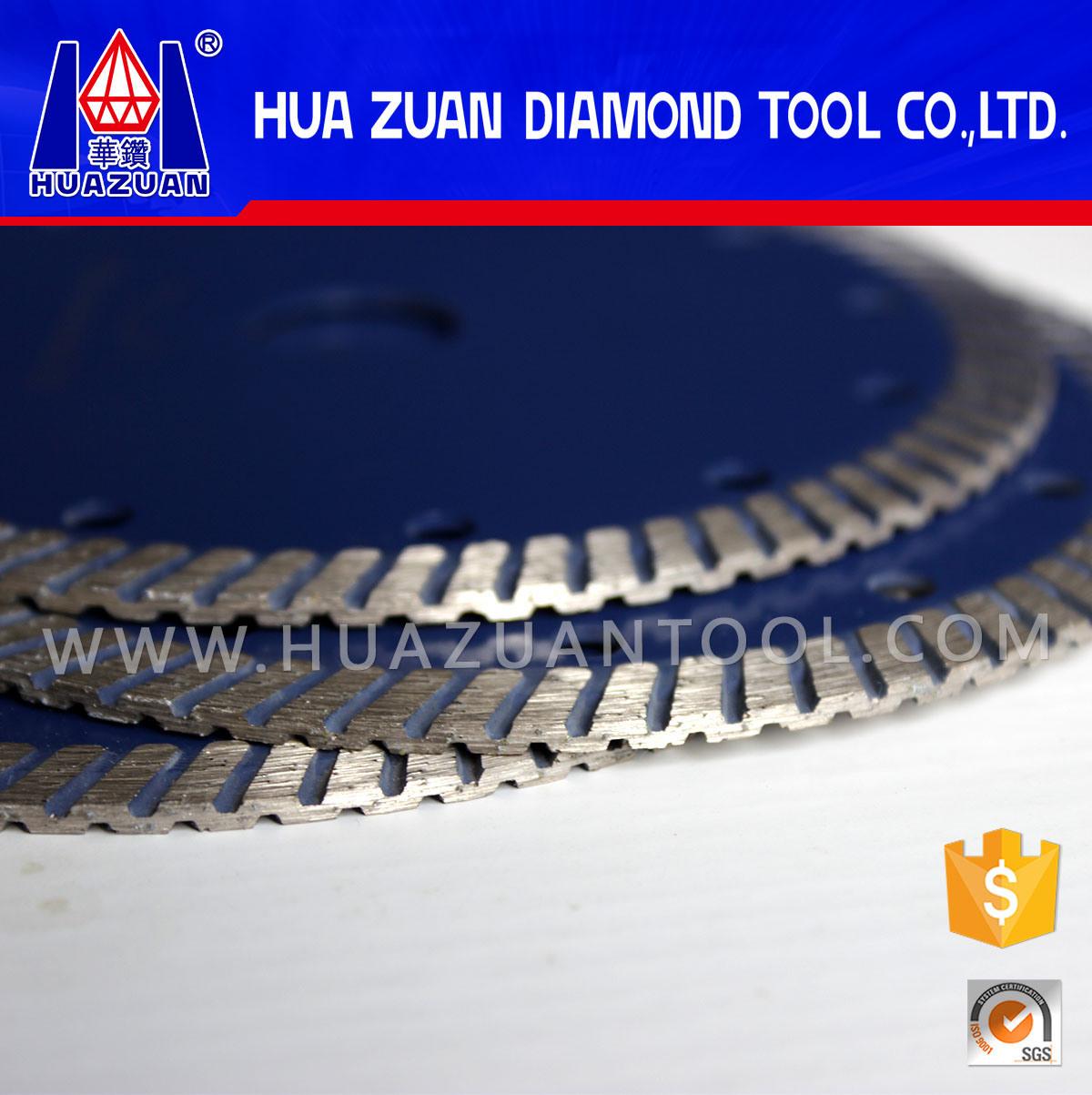 Diamond Stone Cutting Disc by Turbo Hot Pressed