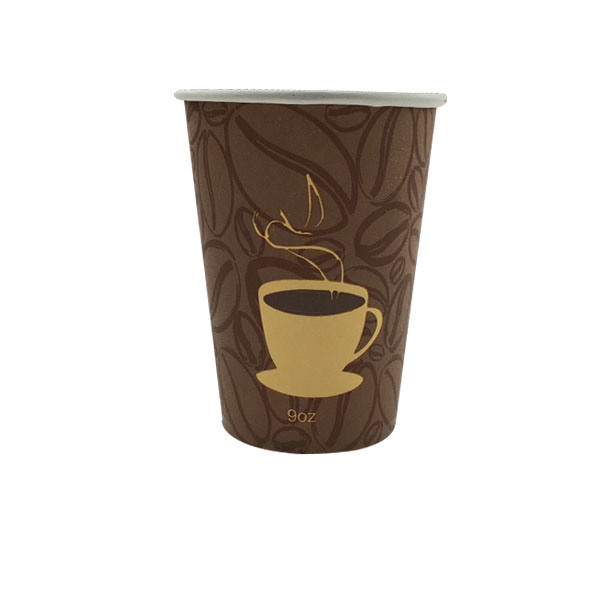Manufacturer Supply Disposable Single Wall Paper Hot Cup