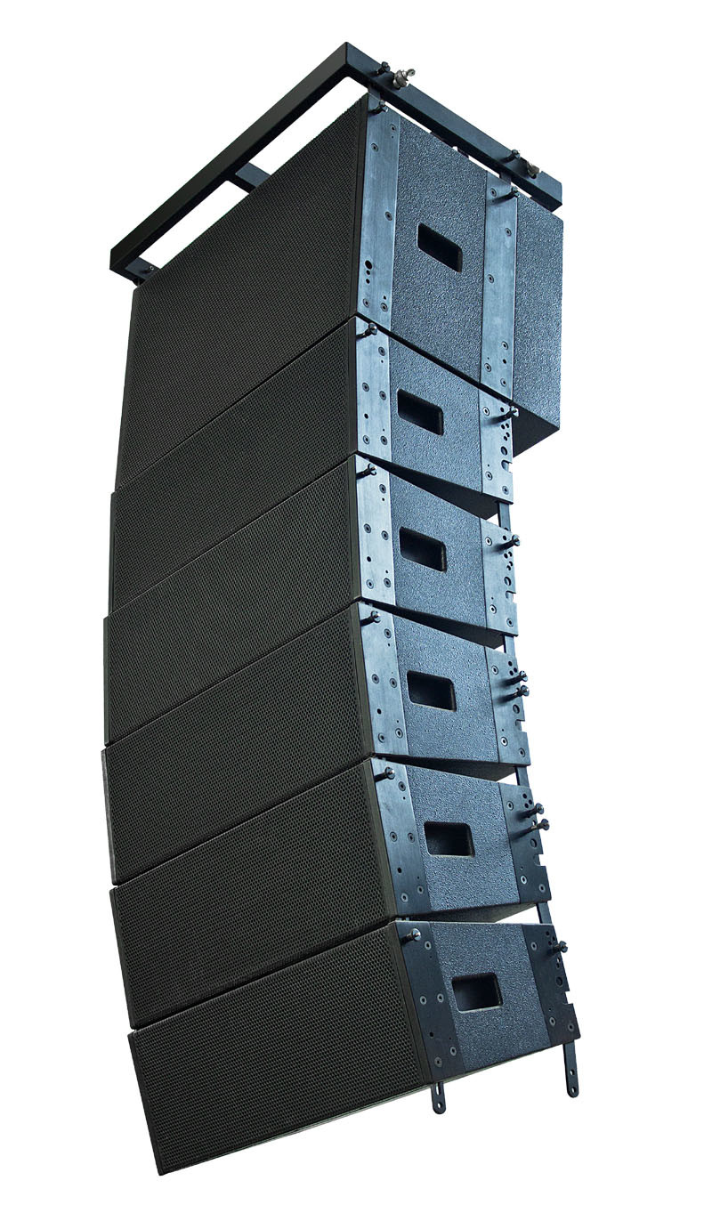 "L-8 300W Dual 8"" Line Array Stadium Speaker"