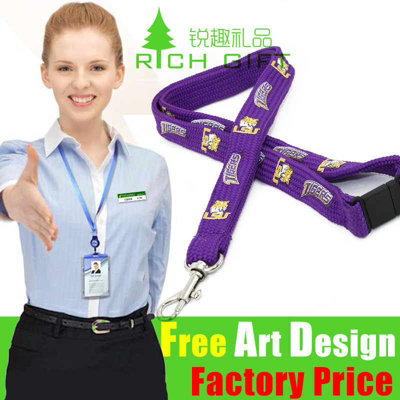 Factory Sale Submliamtion Polyester Woven Printed Strap
