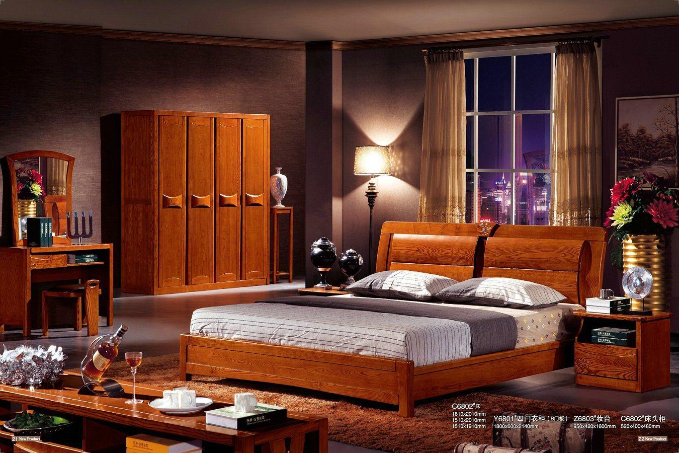 Solid Wood Bedroom Furniture China Bedroom Furniture Solid Wood Bed Photos Pictures Made In