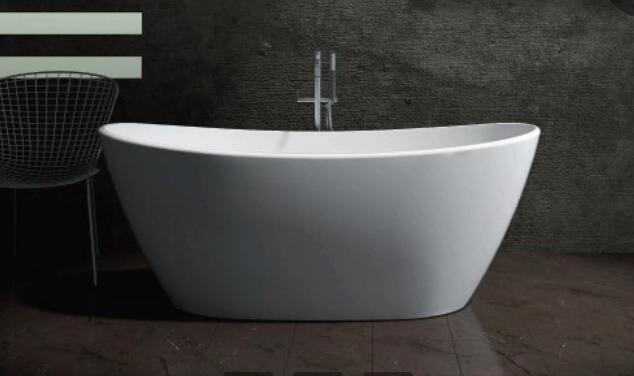 Elegant Acrylic Solid Surface Bathtub
