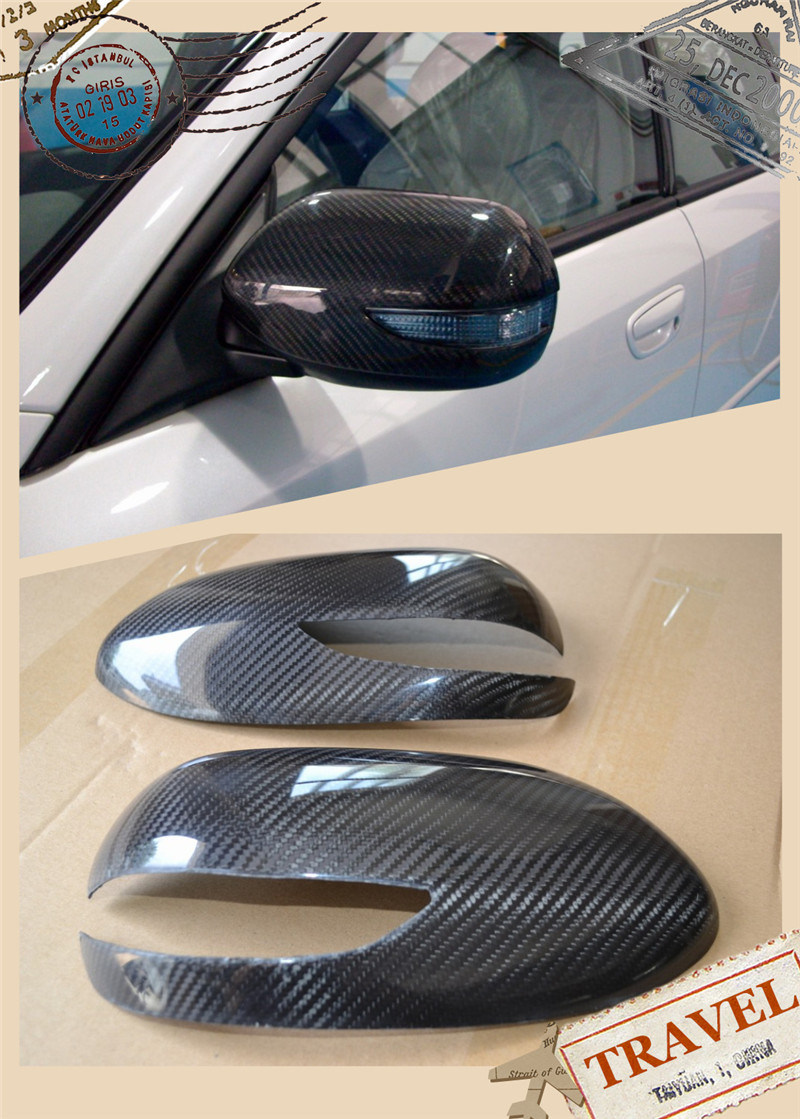 Carbon Fiber Door Mirror Cover for Subaru Legacy