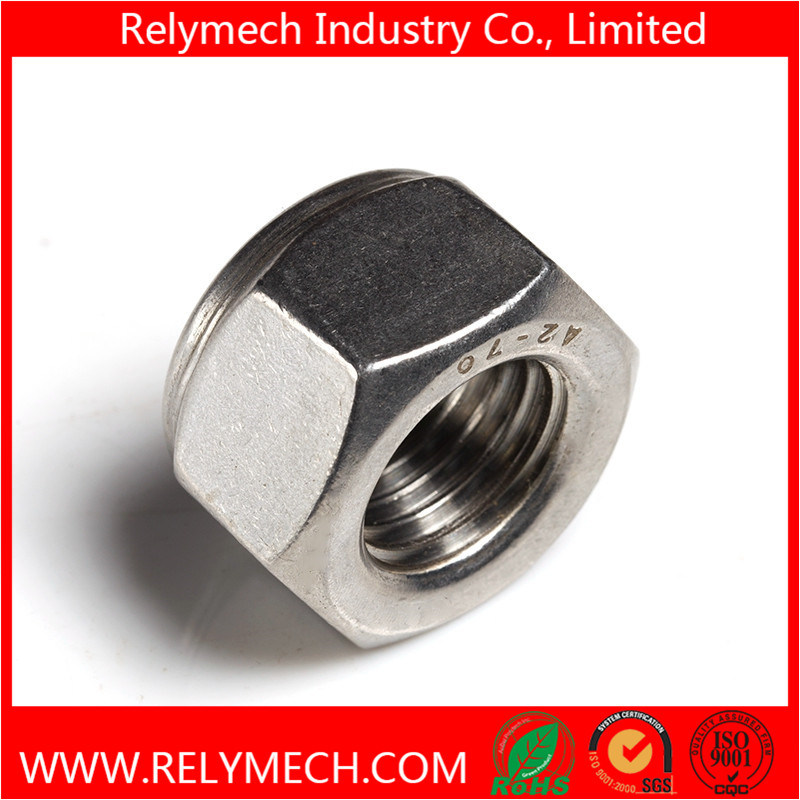 Stainless Steel Hex Nylon Insert Lock Nut M2-M20