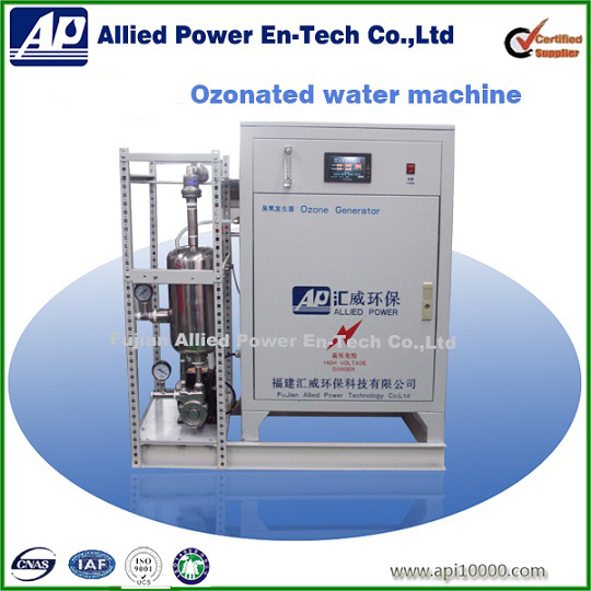Ozone Water Generator for Plastic Bleaching