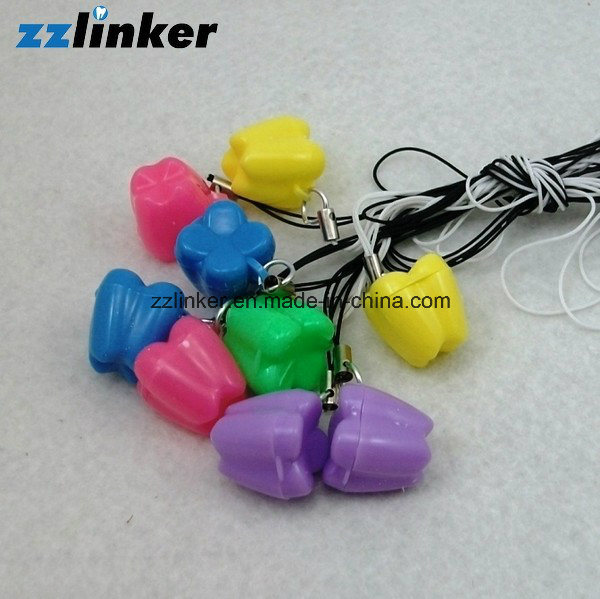 Zzlinker Tooth Shape Colorful Baby Teeth Box