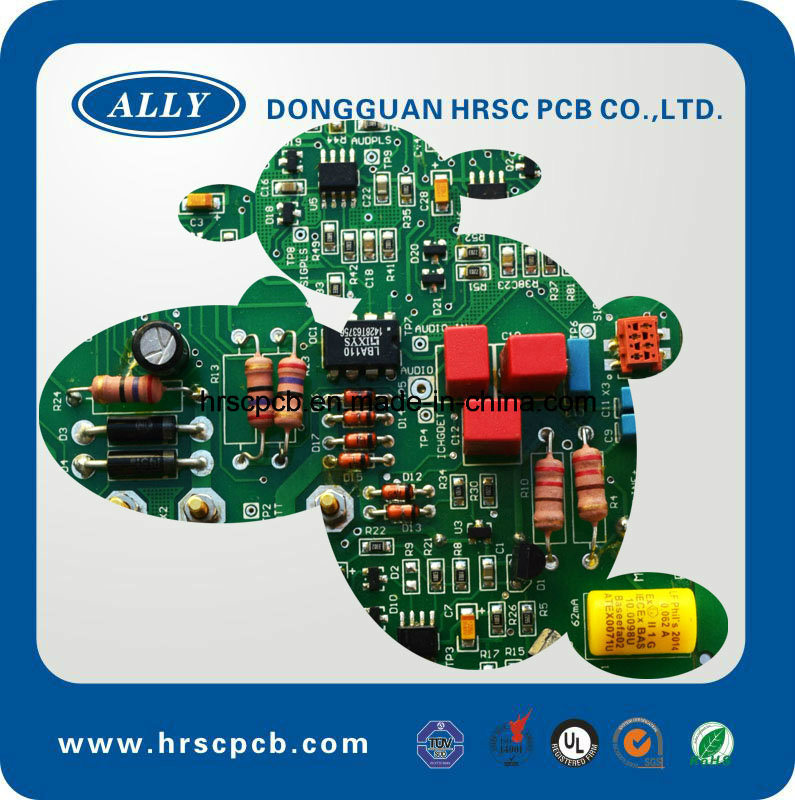 Wall Fan Maind Board PCB with Components (PCBA)