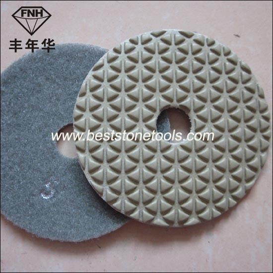 Dd-3 New 5 Step Diamond Dry Polishing Pad