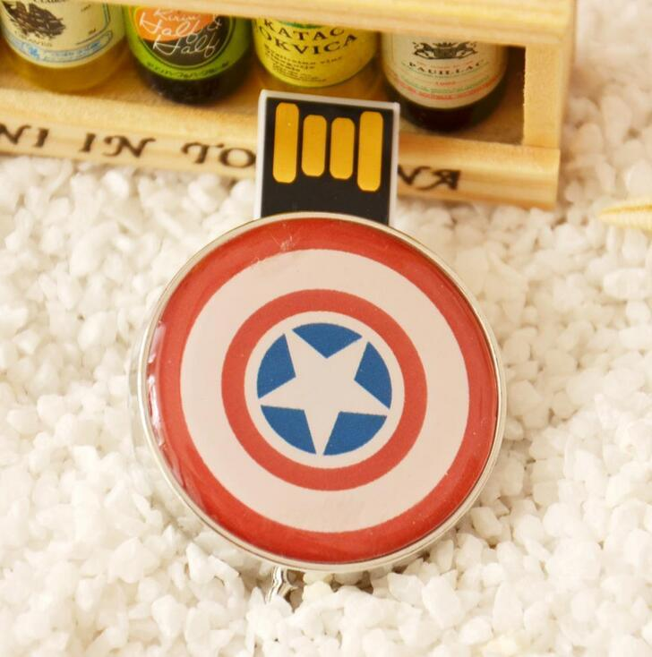 The Avenges Captain America USB Flash Memory