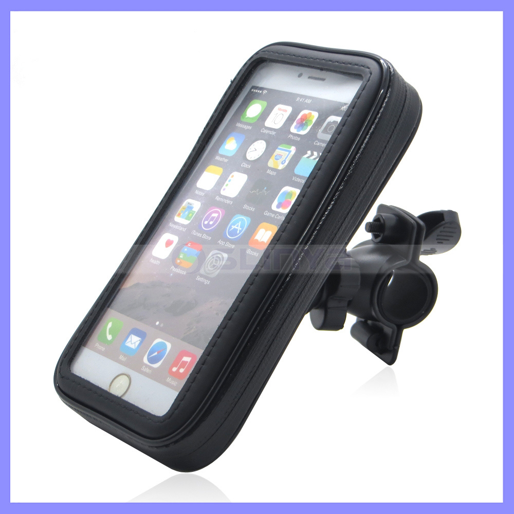 Outdoor Sport Waterproof Full Cover Pouch Mobile Phone Case 5.5 Inch Bike Case for iPhone Samsung Mobile Phone