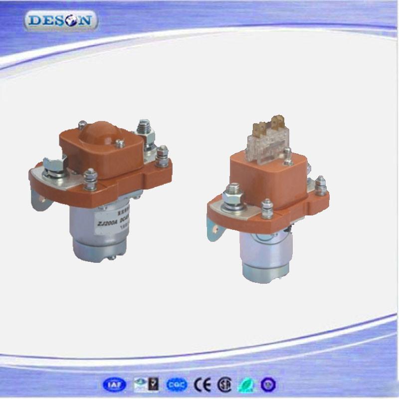 6V-150V 50Hz/60Hz 200A Electric DC Contactor